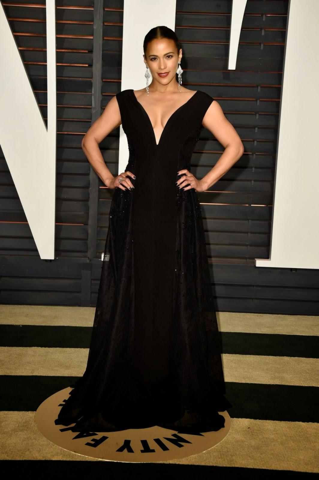 Paula Patton – 2015 Vanity Fair Oscar Party in Hollywood