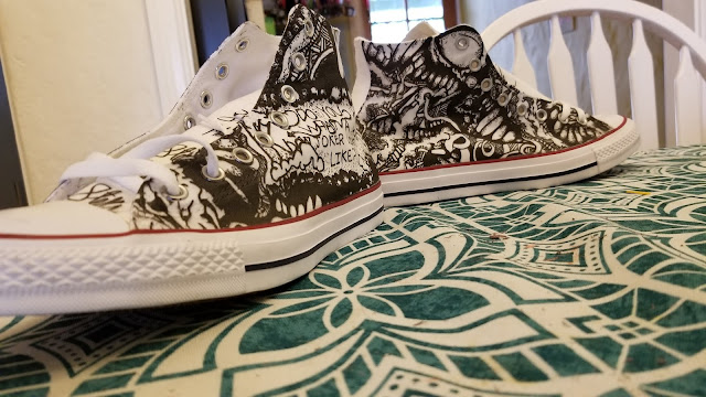 converse all stars designed by silverstreetz