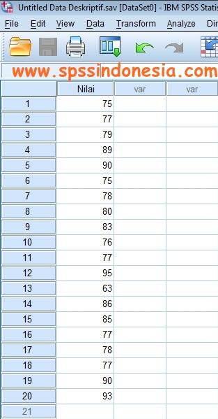 Cara Melakukan Uji Statistik Deskriptif dengan Software SPSS