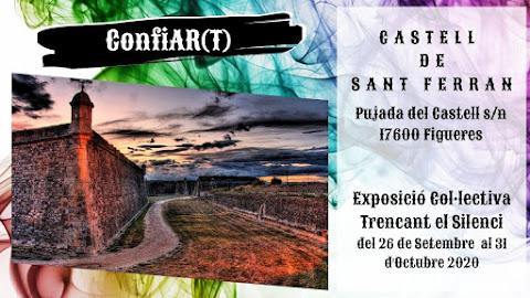 Pròxima exposició col·lectiva - Castell de Sant Ferran - Trencant el Silenci