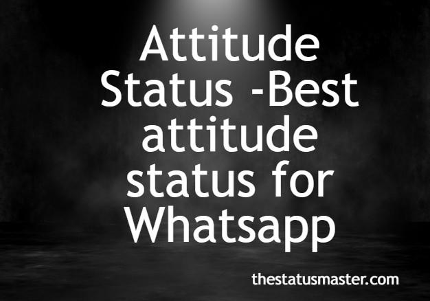 Attitude Status -Best attitude status2020
