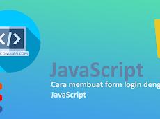 Cara membuat form login dengan JavaScript