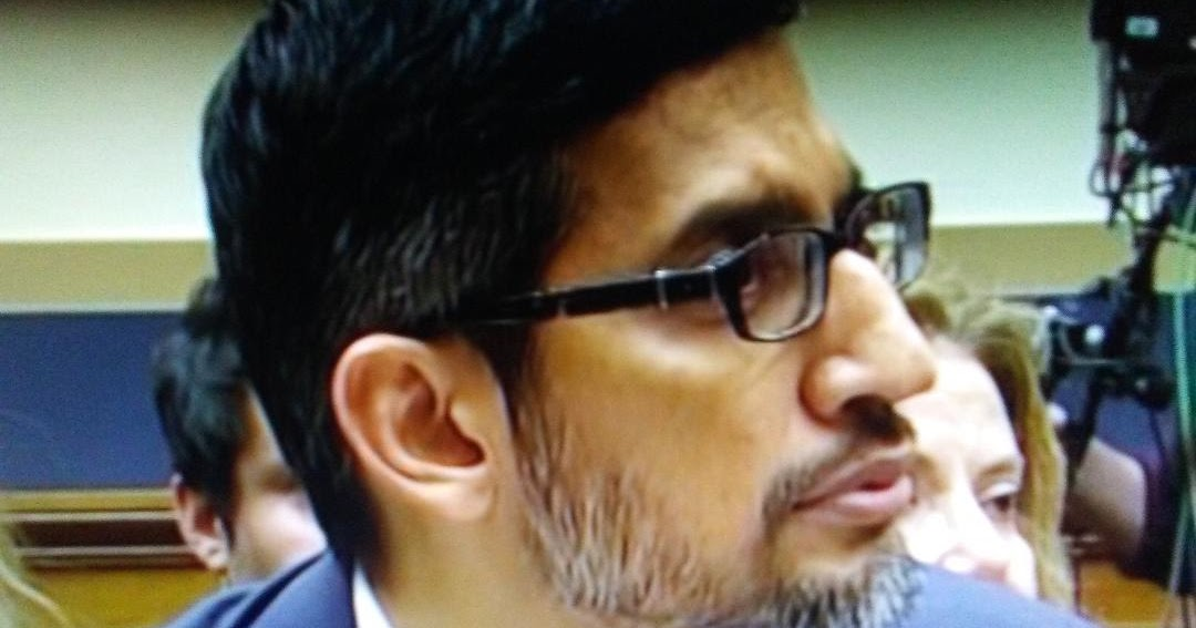 Obama-lovin' Google's Sundar Pichai was grilled on privacy, data collection, and China during congressional hearing