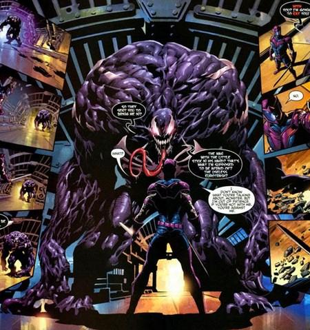 El simbionte Venom estuvo unido a Mac Gargan