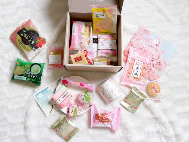 Le contenu de la sakuraco box de mars.