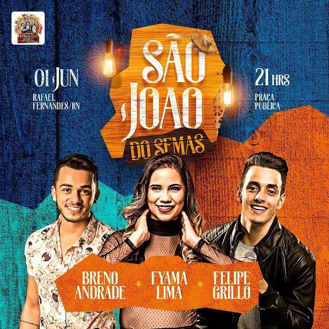 São João do SEMAS acontece neste sábado em Rafael Fernandes