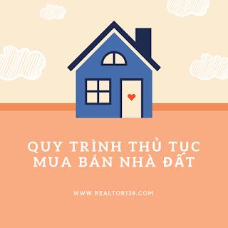 Quy trình thủ tục mua bán nhà đất 2019