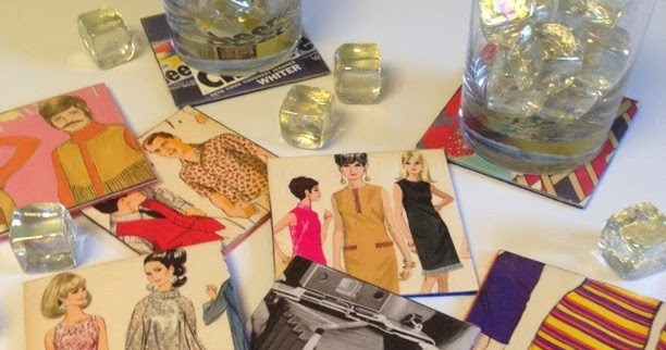 KBB Crafts & Stitches: Mad Men-Inspired Coasters