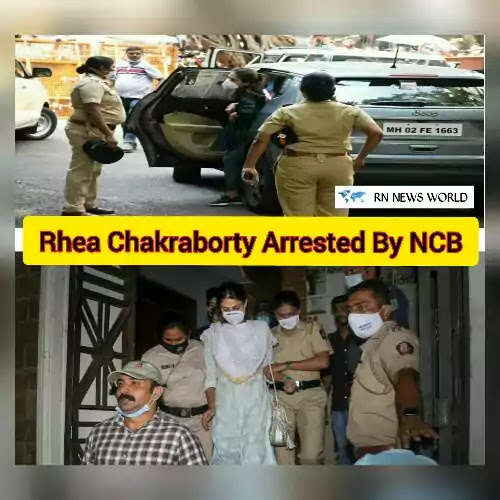 Rhea-Chakraborty-Arrested-by-NCB-third-round-of-questioning