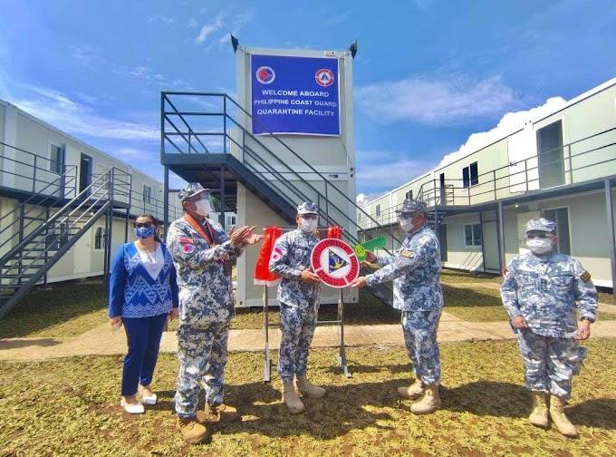 Philippine Coast Guard inaugurates their first quarantine facility in Taguig