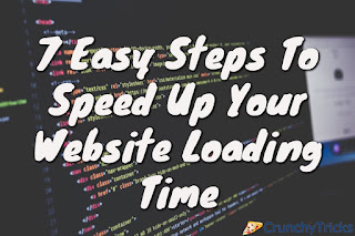 And when it comes to websites and blogs 7 Easy Tips to Speed Up Your Website