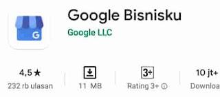 aplikasi bisnis online google bisnisku