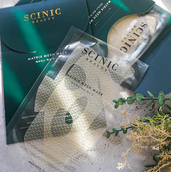 Scinic Matrix Mesh Mask & Balance Face Mist Toner Review
