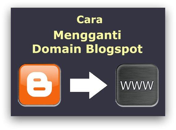 Cara Mudah Mengganti Domain Blogspot