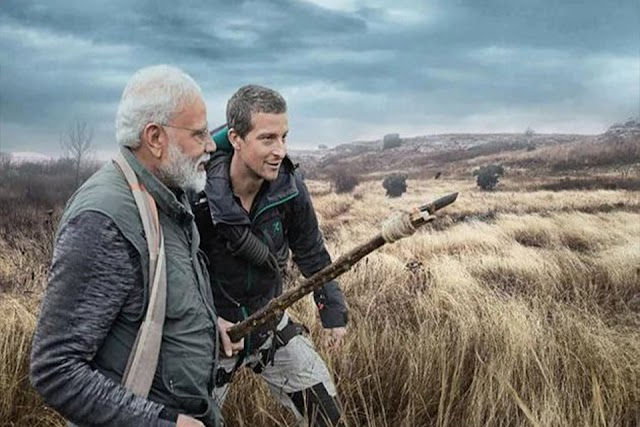 Man V/S Wild Bear- Grylls with Narendra Modi {Full Episodes} in Hindi Download | 720p [400MB]