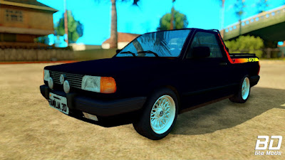 Mod , Carro, VW Saveiro Sunset 1994 para GTA San Andreas, GTA SA