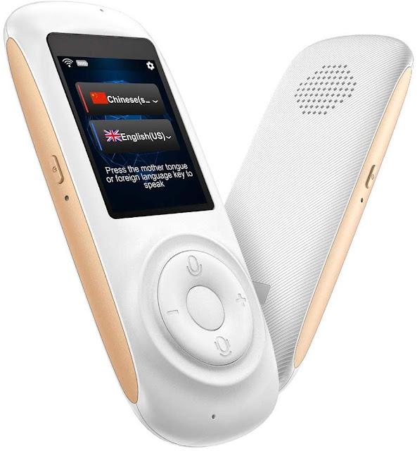 MORTENTR Translator Device Smart Voice Translator