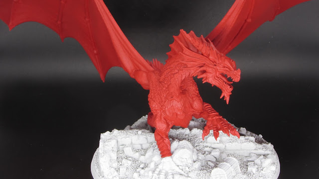 Adult Red Dragon (WIP)
