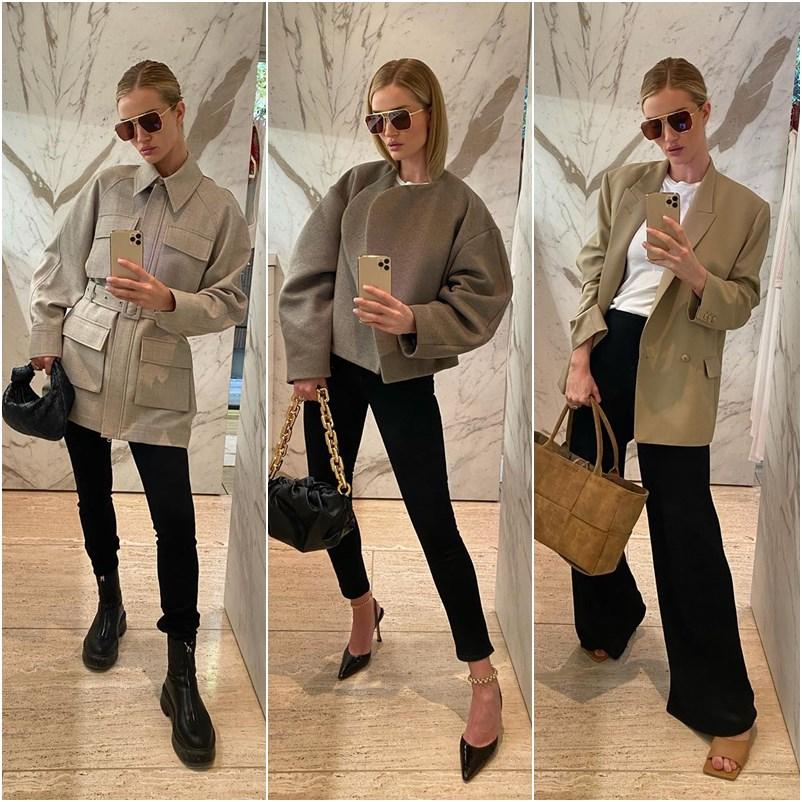 Rosie Huntington-Whiteley em 25 looks copiáveis e arrasadores
