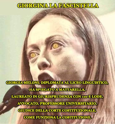 Giorgia Meloni, cacciata con sputi, insulti...