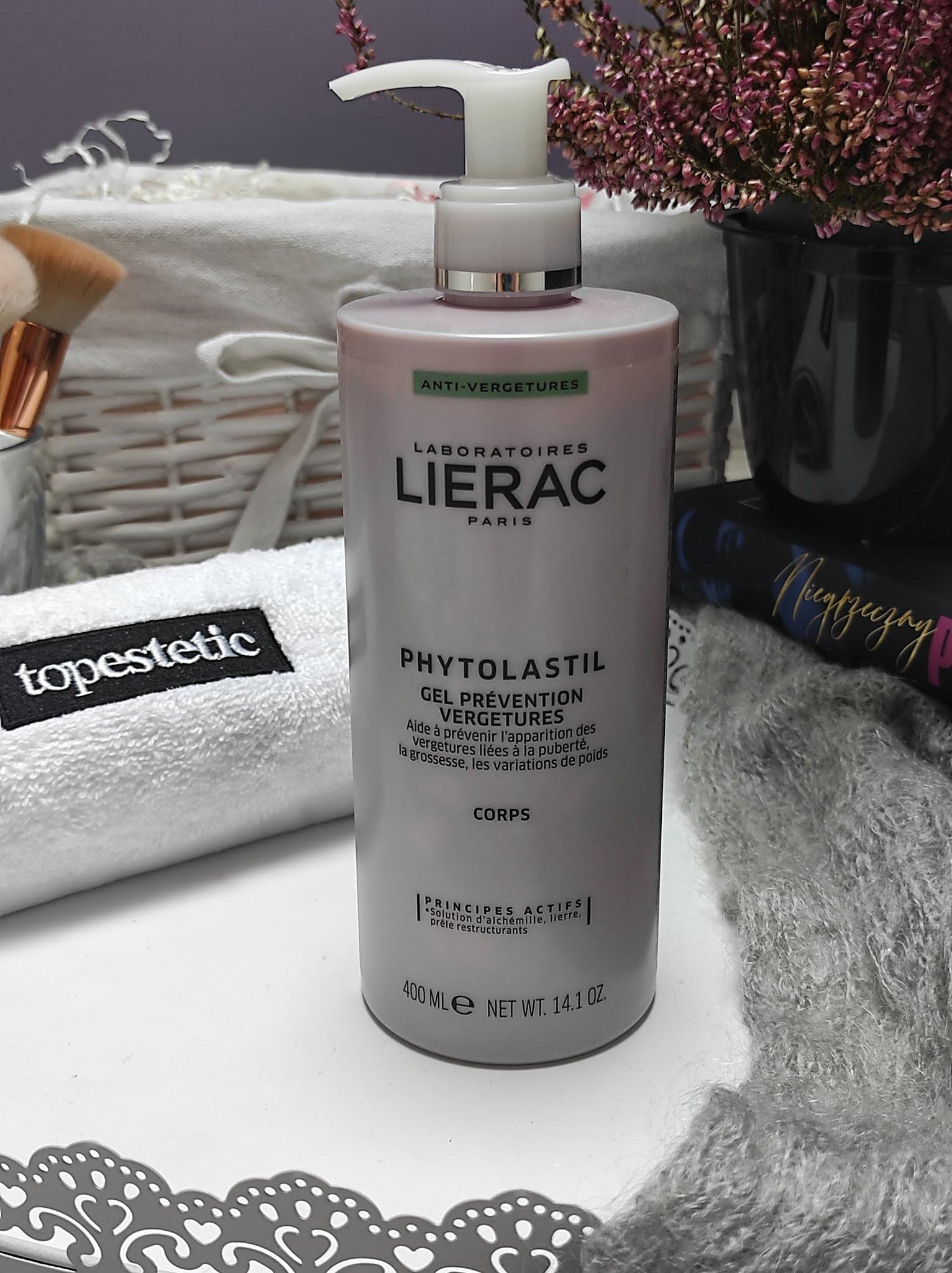Żel zapobiegający rozstępom Phytolastil od marki Lierac
