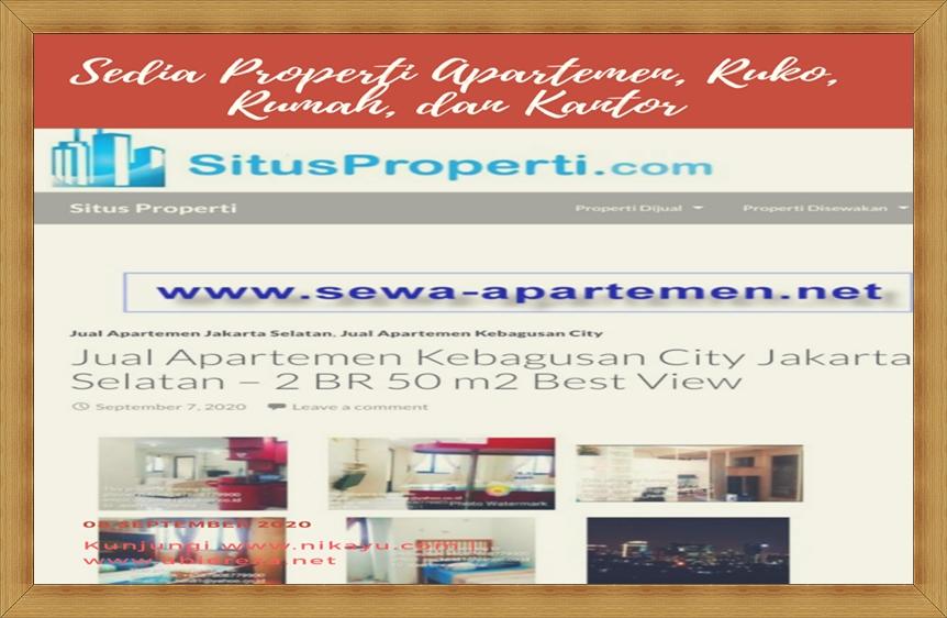 Sewa Rumah dan Ruko di situsproperti.com, Jual Beli Apartemen