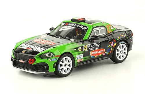 collezione rally monte carlo Abarth 124 Rally RGT 2017 Gabriele Noberasco - Daniele Michi