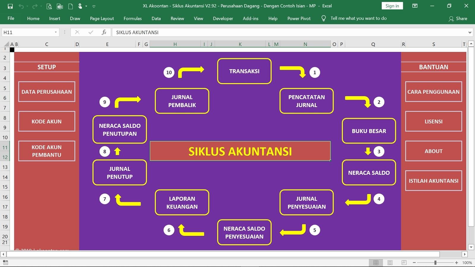 Aplikasi Excel Akuntansi Siap Pakai