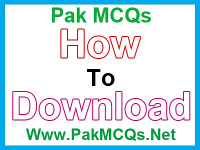 How To Download Data From PakMCQs ~ Pak MCQs