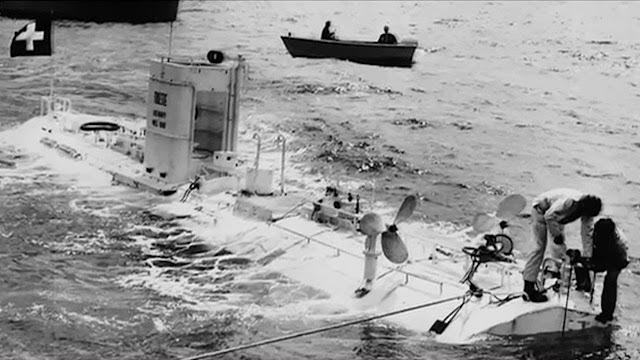 Jacques Piccard foi quem bateu o record de profundidade oceânica