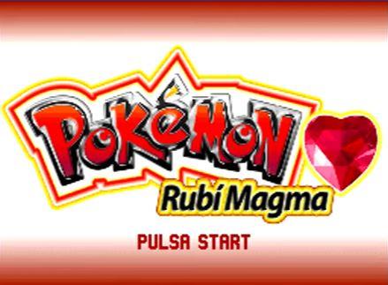 Pokémon Rubí Magma (NDS)