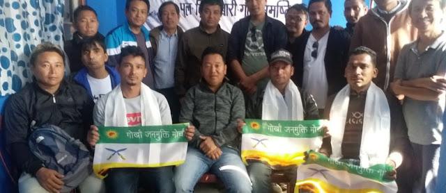 TMC supporters joins GJM in Bijanbari