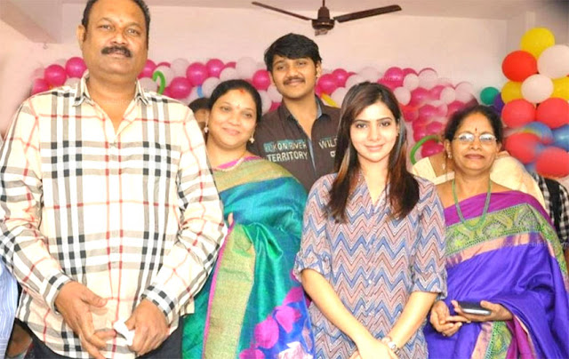 Samantha Auto Biography Biodata Profile Family Photos