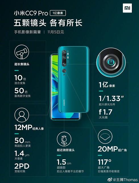 Spesifikasi_Xiaomi_CC9_Pro