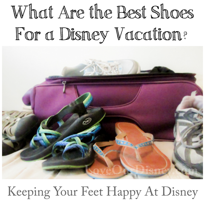 The question everyone asks- what are the best shoes for Disney? ANSWERED! LoveOurDisney.com