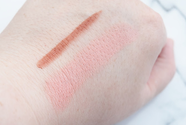 Bare Minerals Gen Nude Under Over Lip Liner in On Point Swatch