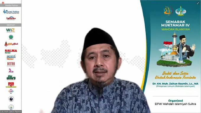 *MENGISI TABLIGH AKBAR MENUJU MUKTAMAR IV, PIMPINAN UMUM WAHDAH ISLAMIYAH AJAK WARGA SULTRA BERKARYA MEWUJUDKAN BAKTI DAN SETIA UNTUK INDONESIA*