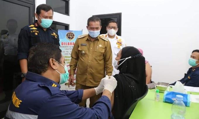 Wali Kota Serang Apresiasi Kegiatan Vaksinasi dan Baksos Peringati Hari Perhubungan Nasional di Karangantu
