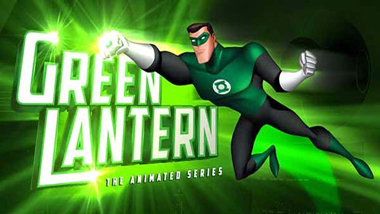 linterna verde serie animada