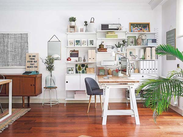 Decordemon Bright Apartment In Madrid With Nordic Style