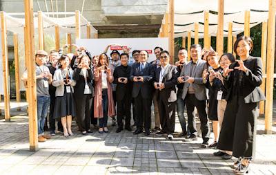 松菸口由台灣設計館、不只是圖書館、設計點、美國創新中心等品牌集結為設計聚落
