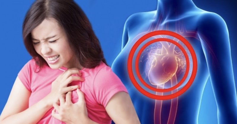 6 Symptoms Of A Heart Attack That Occurs Only In Women