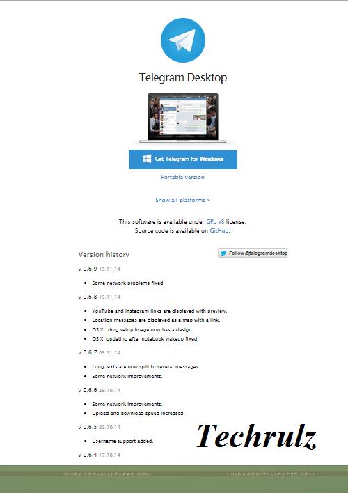 Telegram for pc/desktop,laptop free download-windows 8 1/7
