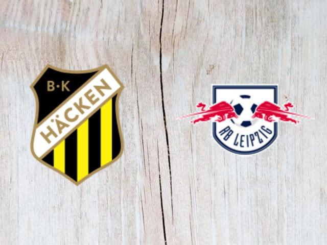 Watch Häcken vs RB Leipzig - Highlights - 02 August 2018
