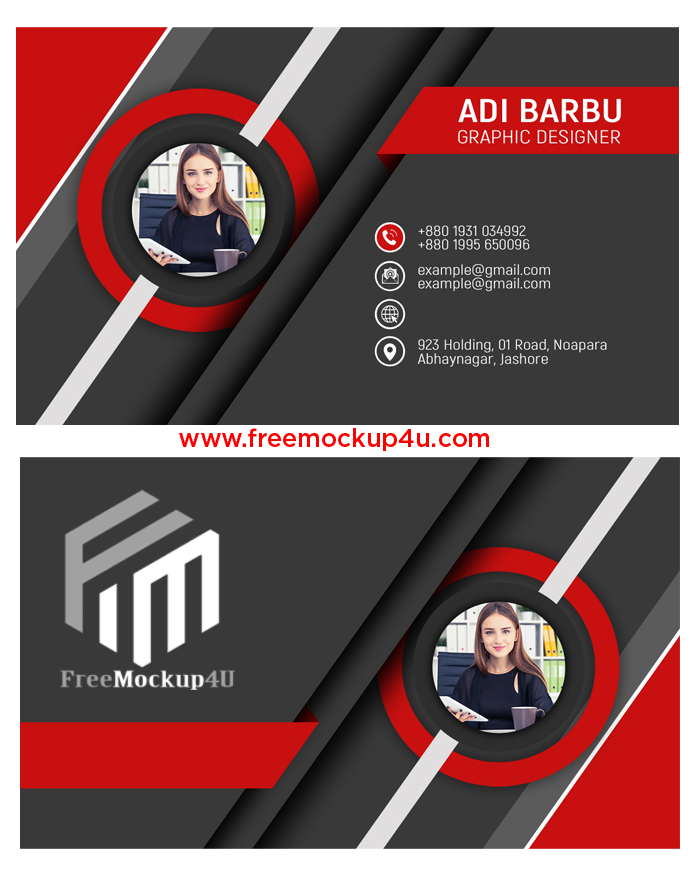 3D Visiting Card Design In Photoshop