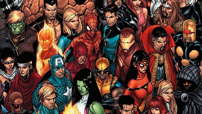 EVERYTHING YOU NEED TO KNOW ABOUT MARVEL UNIVERSES AND CHARACTERS