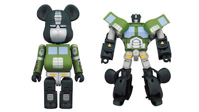 Transformers x BAPE Optimus Prime Be@rbrick Figure by Medicom Toy