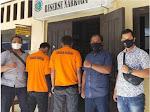 Bawa Sabu, Dua Warga Pesibar Ditangkap Satnarkoba Polres Lambar