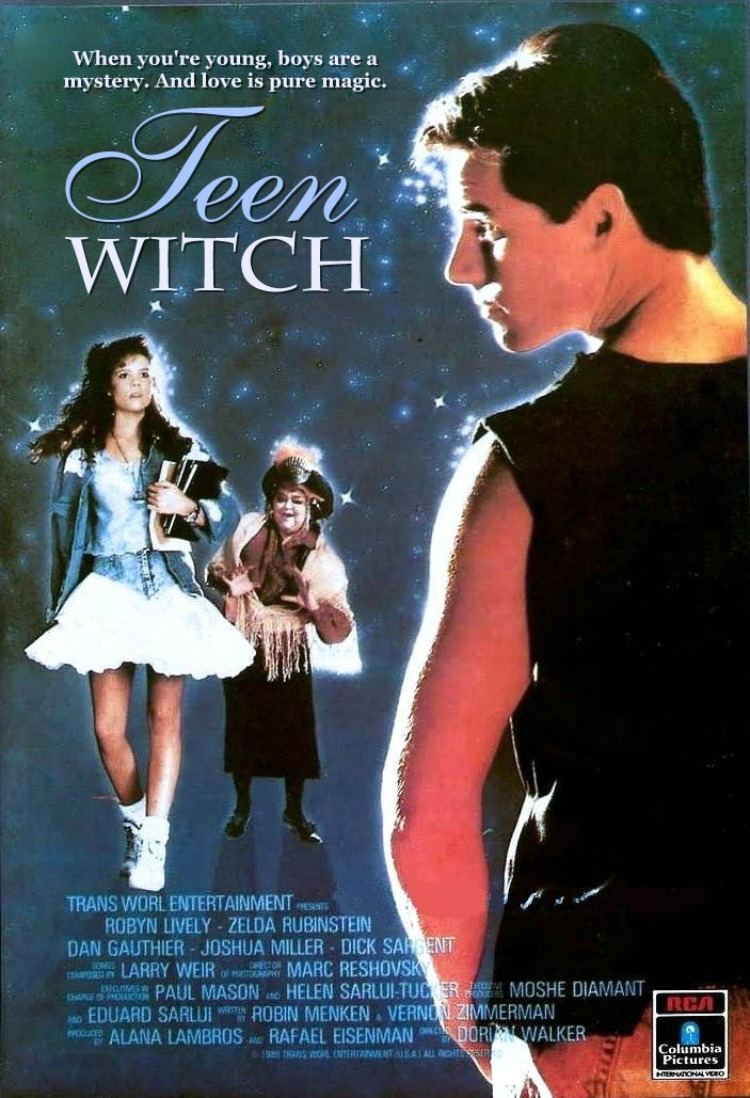 A Vintage Nerd, Classic Film Blog, Old Hollywood Blog, 1980s Movies,  Teen Witch