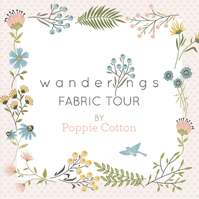 Wanderings fabric tour by Poppie Cotton - found on A Bright Corner